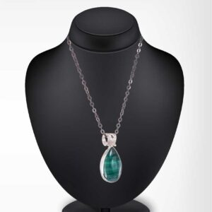 Malachite pendant / Gemstone pendant / Gemstone necklace