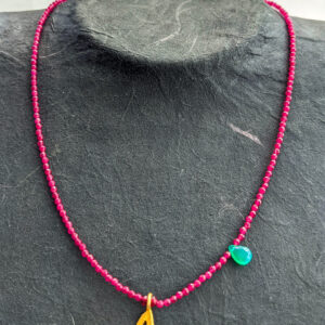 Necklace with Jade